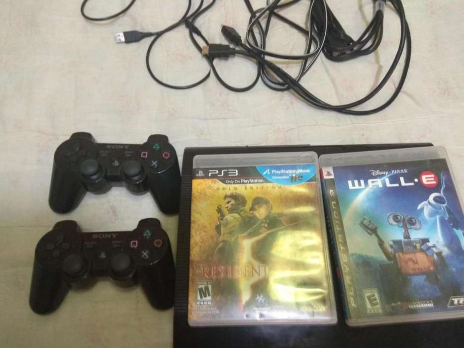 Play 3 232 Gb Ultraslim 2 controles