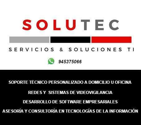Soporte Técnico De Pcs, Laptops y Redes A Domicilio
