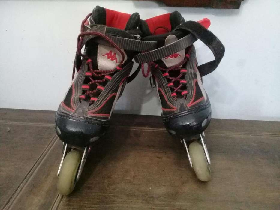 Rollers Kappa Size 33-37 Extensibles