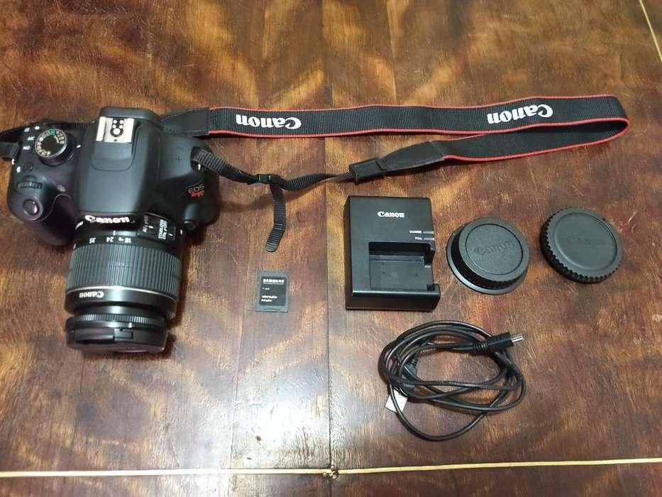 Cámara Reflex Canon T5 Impecable