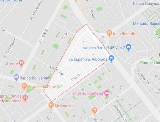 Av Isidro Ayora, 320m2, Principal, Comercial, Terreno en venta, Alborada