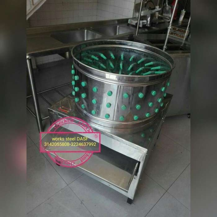 Desplumadora Escaldadora Marmita Freidor marmita despulpadora desplumadora horno