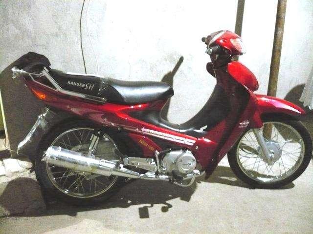 Ranger <strong>motoneta</strong> 110cc 2 semanas de uso 600 negociable