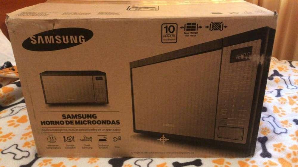 Horno Microondas Samsung Y Olla Arrocera