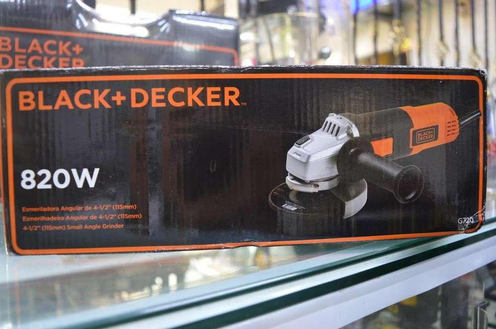 Pulidora Black & Decker nueva 850w
