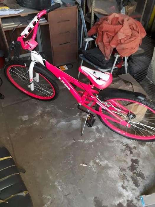Bicicleta Rodado 24 , Nueva 2 Usos