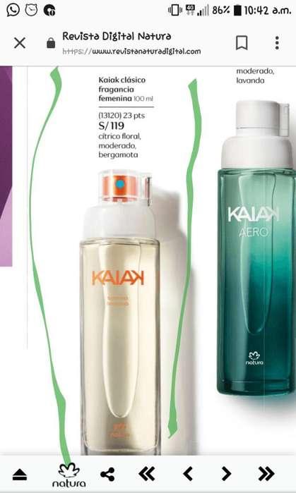 Kaiak Perfume Mujer
