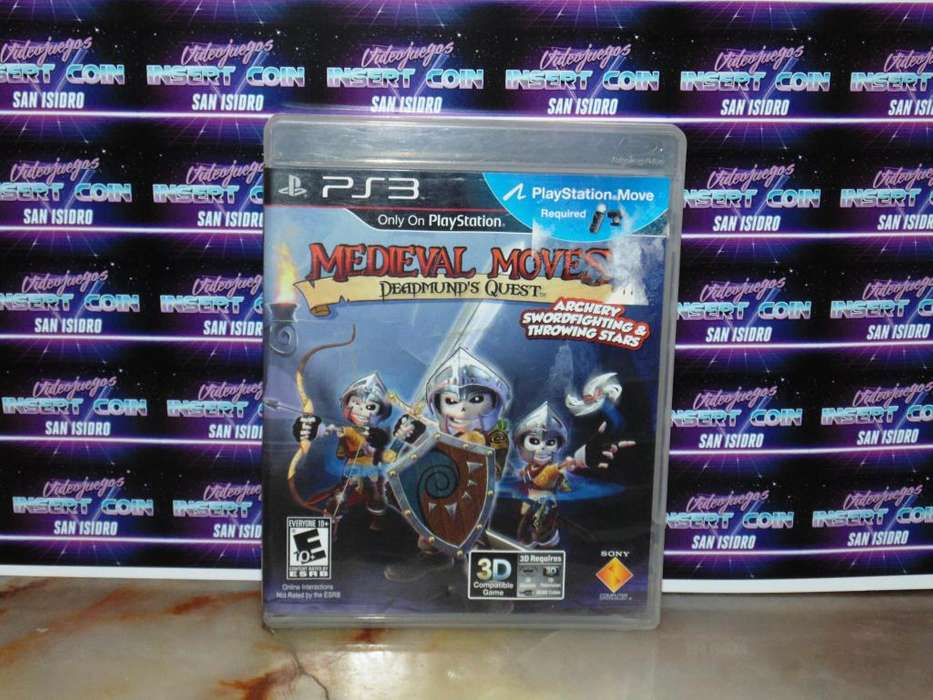 Medieval moves Play Station 3 Juego PS3