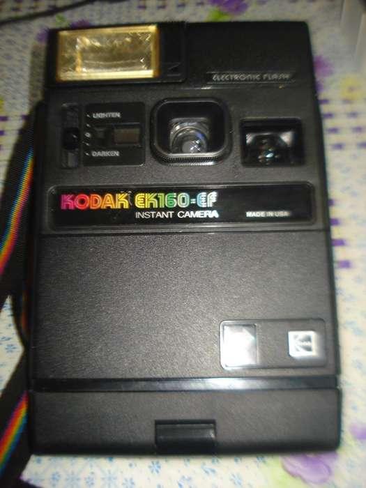 Camara De Fotos Kodak Ek160 Ef Instantanea Funciona A Probar