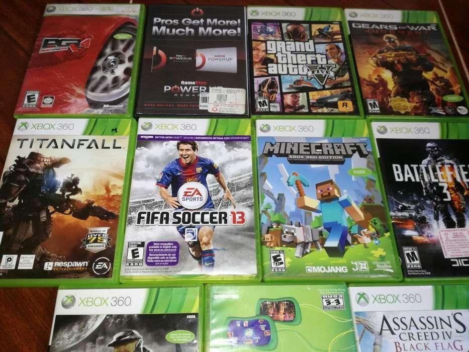 Vendo O Cambio Juegos D Xbox X Disco Dur
