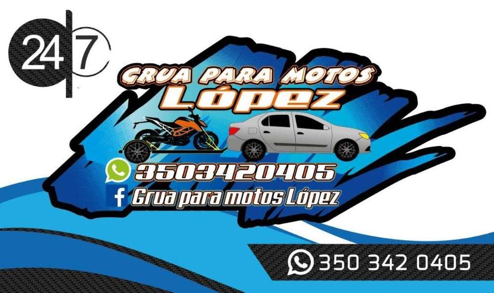 Grúa Y Transporte para Motos