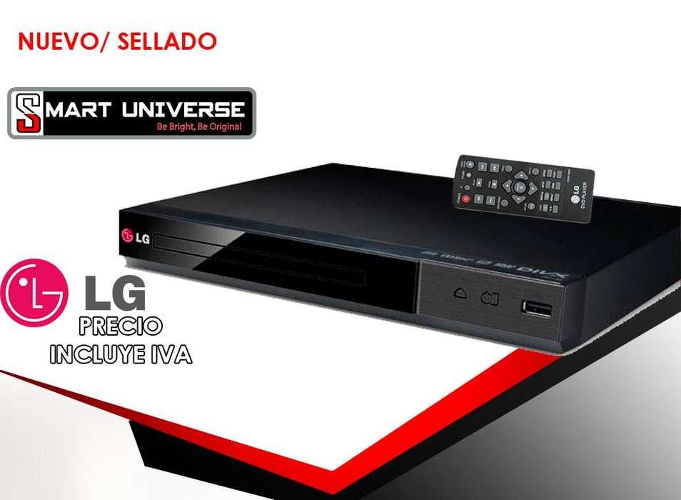 Reproductor de DVD Lg DP132 Usb Rca