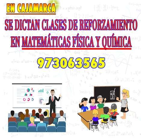 Se Dictan Clases de Reforzamiento Cajamarca