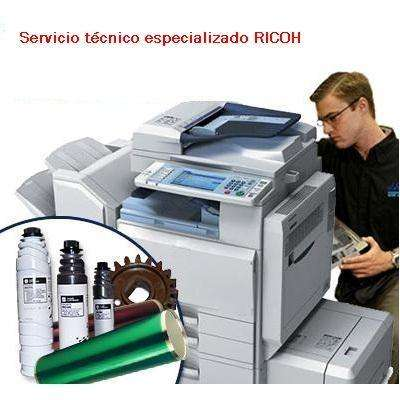 SERVICIO TÉCNICO GARANTIZADO DE COPIADORAS RICOH