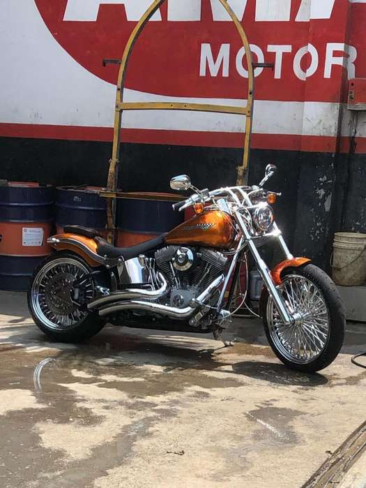 Motocicleta Harley Davidson Softail