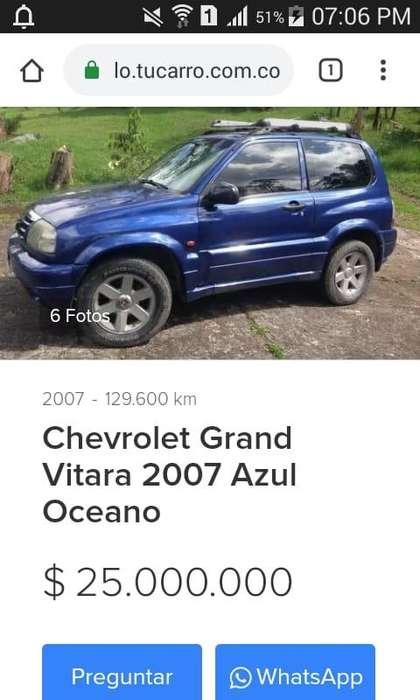 Chevrolet Grand Vitara 2007 - 120000 km