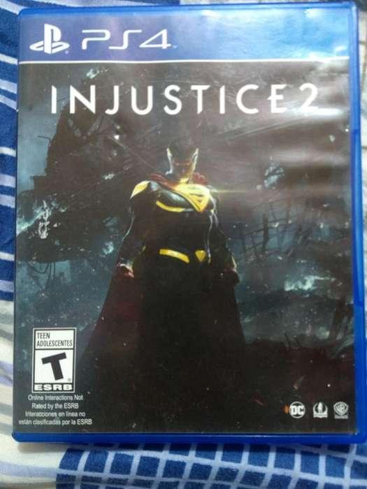 Vendo Juego de Pley4 Injustice 2
