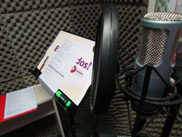 Estudio de grabación para voces: locutores, actores, profesionales en Microcentro