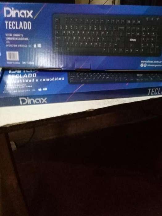 Teclado para PC, Notebook Slim Dinax usb , excelente calidad