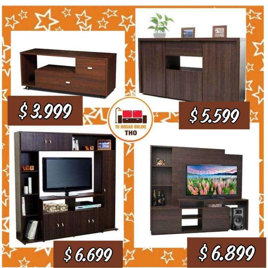 Rack para TV // Línea Florencia // Modulares y Mesas para TV // Tu Hogar Online