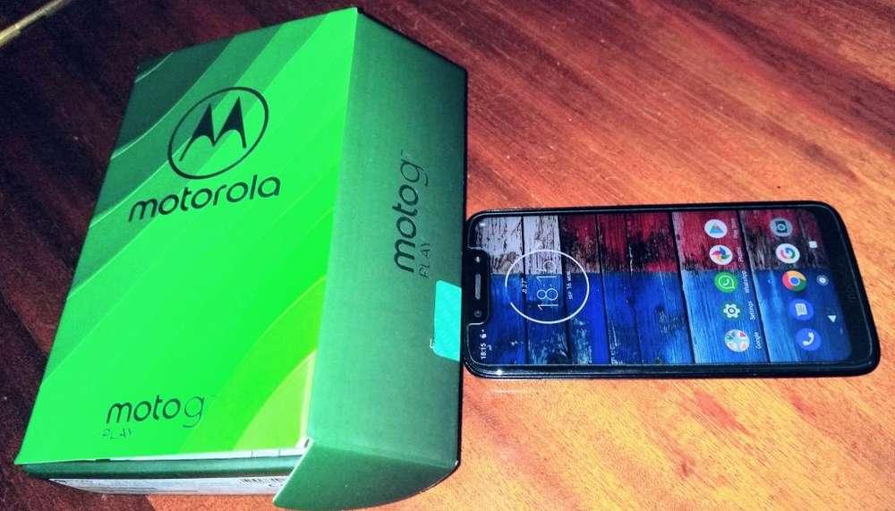 Moto G7 Play para Personal con 4 meses de uso y con garantía