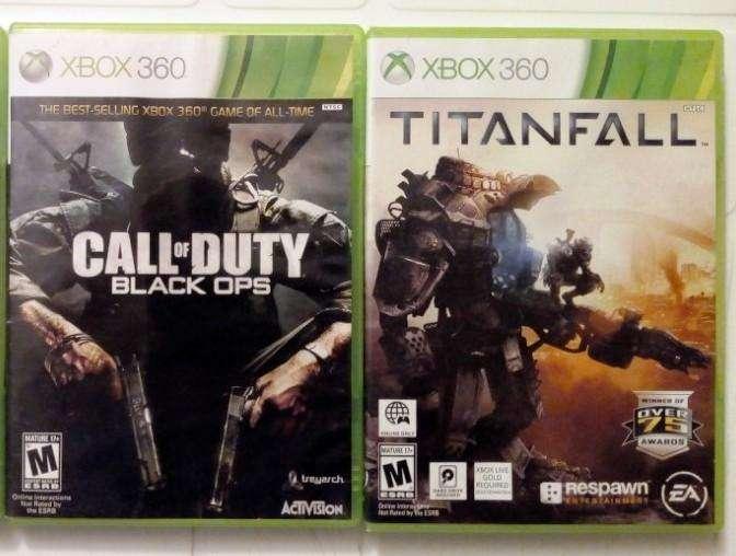 Juegos Originales de Xbox 360 en fisico, los 2 x 25