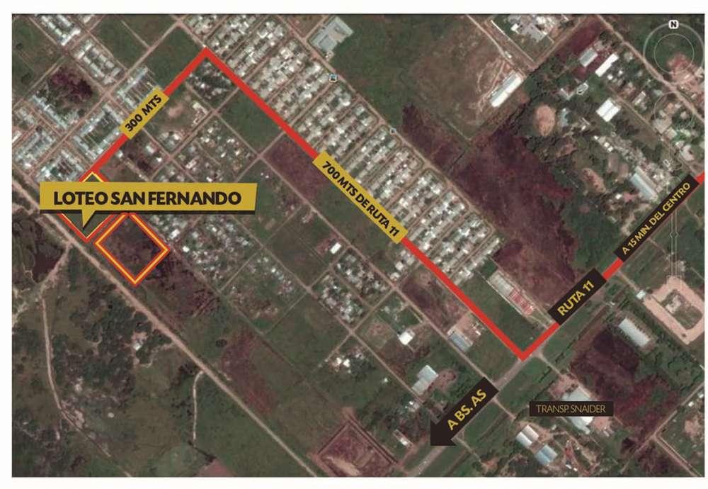 Imperdibles Terrenos Loteo San Fernando Sur 10x40
