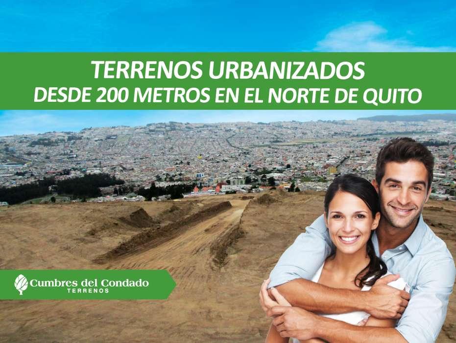 Terrenos de venta ubicados sobre Urbanización El Condado km 2 Vía a Nono