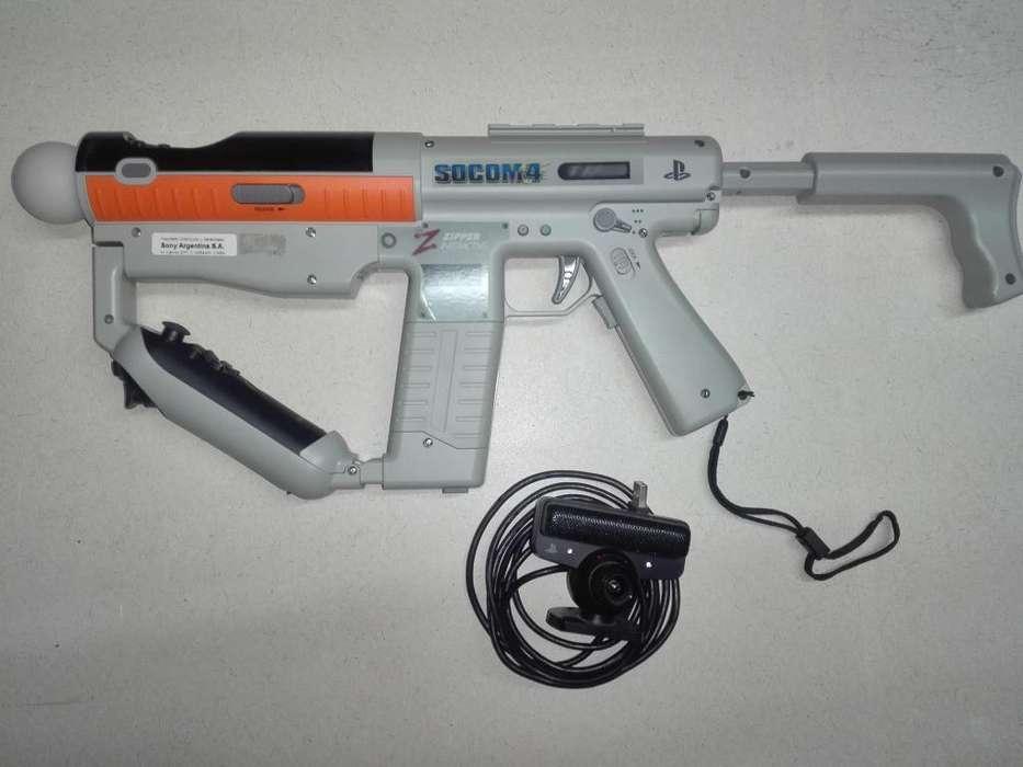 PS3 Sharp-Shooter Kit Move Navigator 2200 (No llevo)