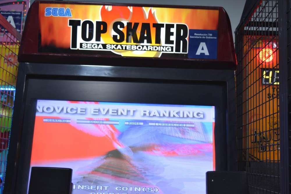 Maquina Top Skater Simulador <strong>video</strong> Juego Maquinitas