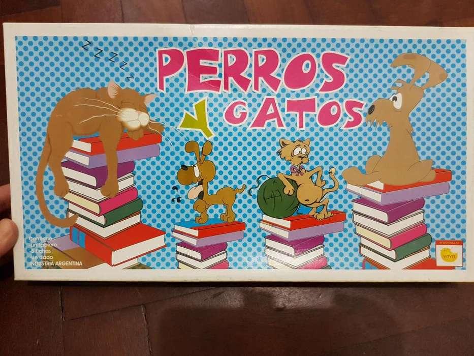 JUEGO DIDACTICO DE PERROS Y GATOS