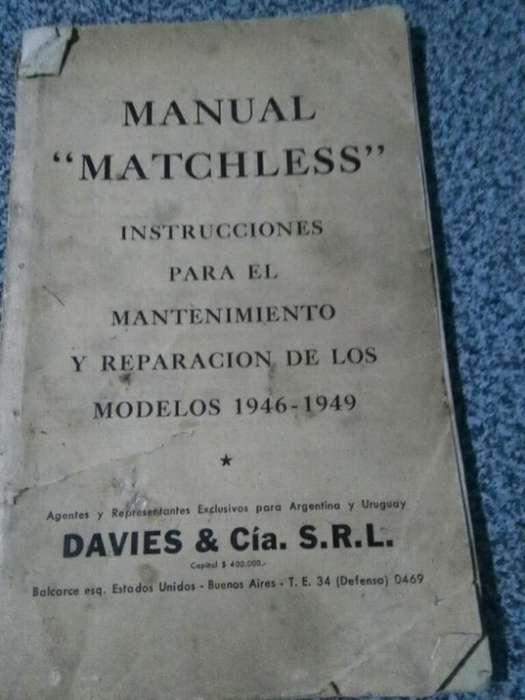 Manual Mantenimiento para Matchless