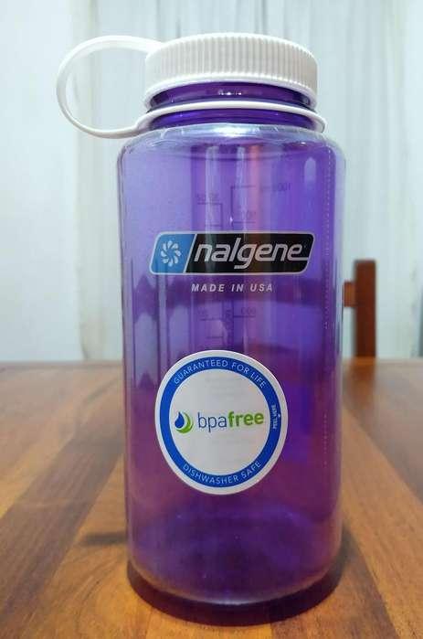 Botella Nalgene Tritan 1 Litro Boca Ancha c/pico dosificador (Nuevo