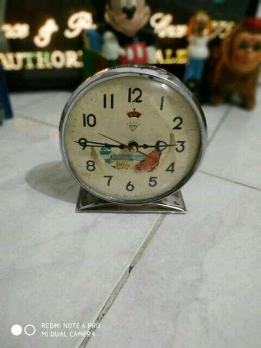 Antiguo Reloj Cuerda Gallinita Original