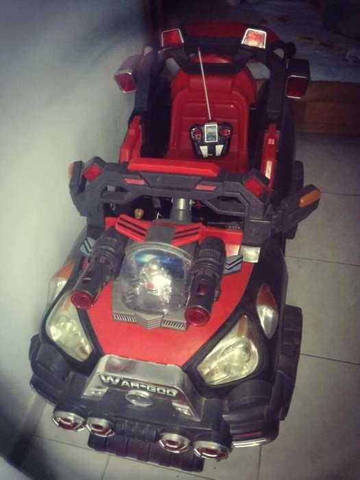 Carro de Bateria con Control Y Cargador