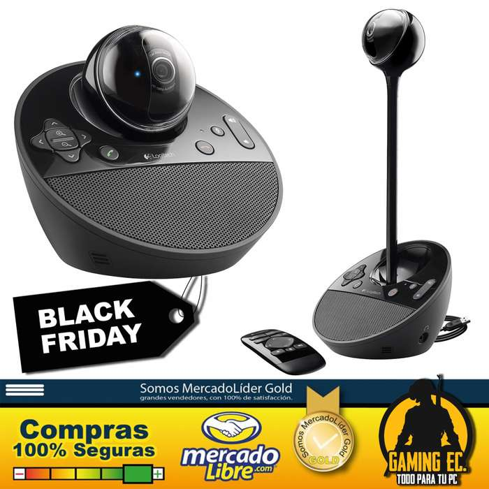 Logitech Bcc950 Full Hd Conferencias Profesional Cam Webcam