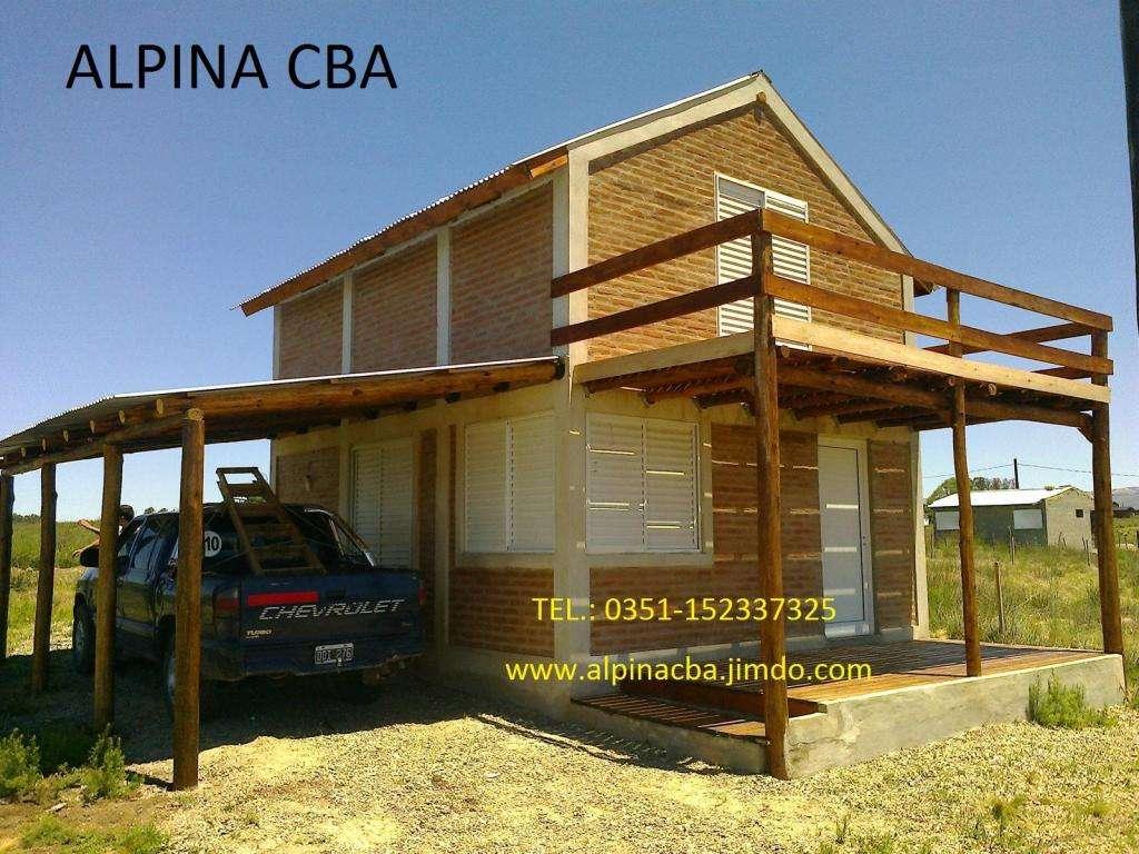 CABAÑAS ALPINAS, CABAÑAS DE TRONCO, Construcciones.