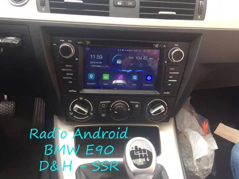 Radio <strong>bmw</strong> serie 3 E90 android