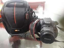 Vendo Camara Canon Sl2 Estado 10 de 10