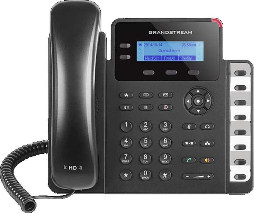 Teléfono IP SMB de 2 líneas GRANDSTREAM (GXP1628)