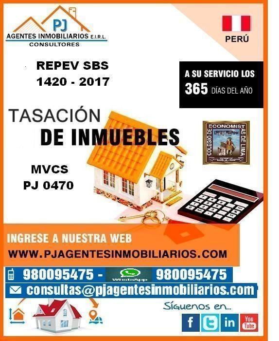 PERITO VALUADOR DE INMUEBLES - VEHICULOS