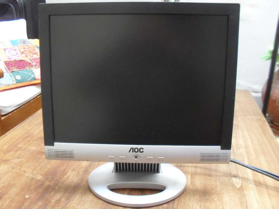 Monitor Aoc 15 Pulgadas Lcd - Muy Bueno