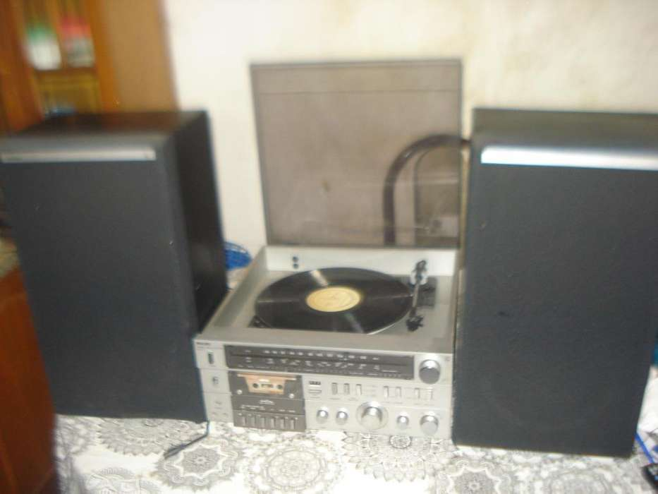 Equipo De Musica Philips F 1238/01 Con Parlantes No Envio