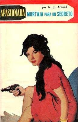 Libro: Mortaja para un secreto, de G.J. Arnaud [novela de suspenso]
