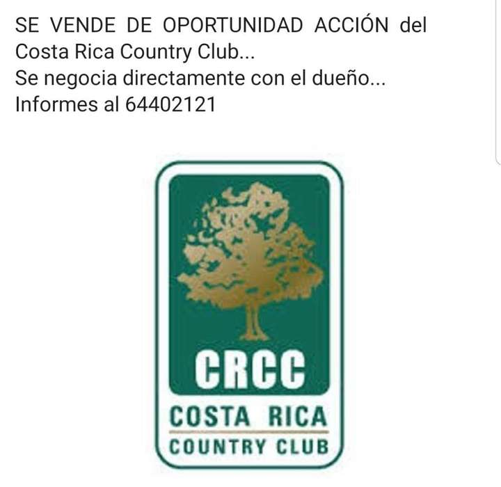 Acción Country Club ( Negociable )