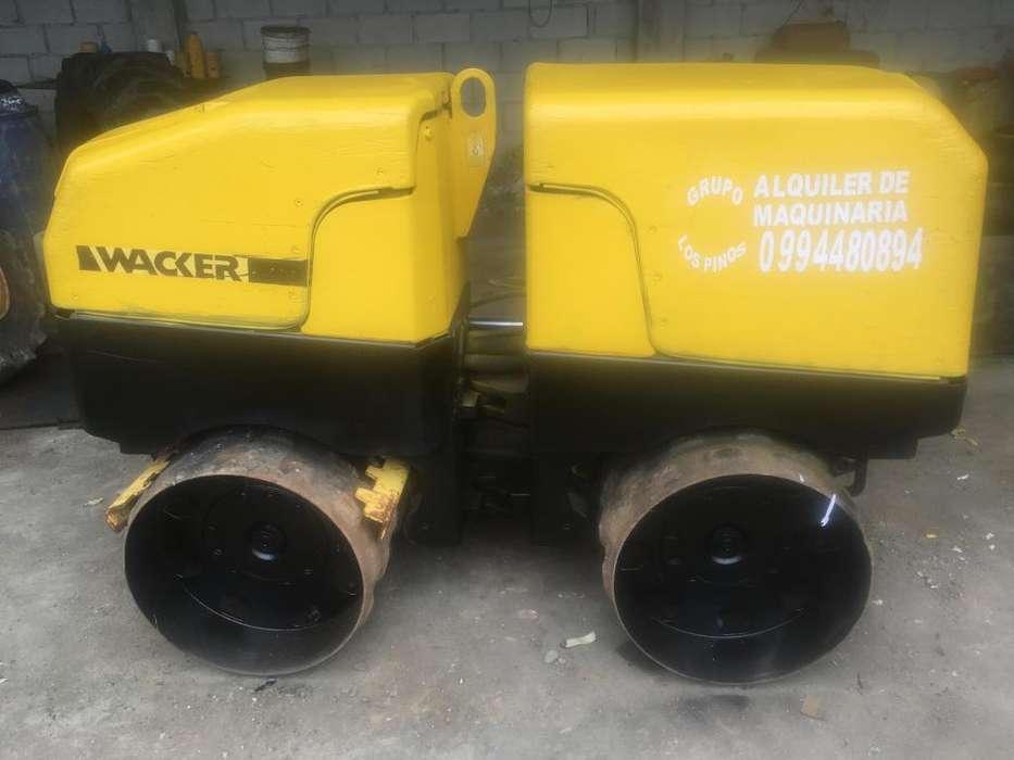Rodillo compactador Wacker de venta o renta