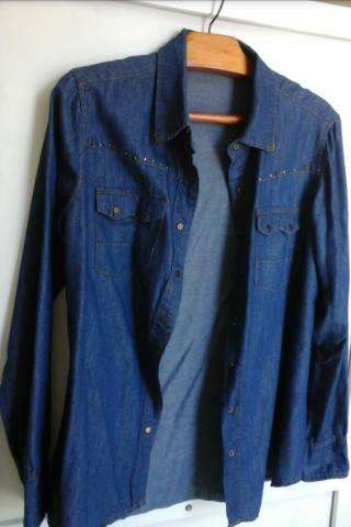 Camisa de jeans <strong>mujer</strong>!...talle M