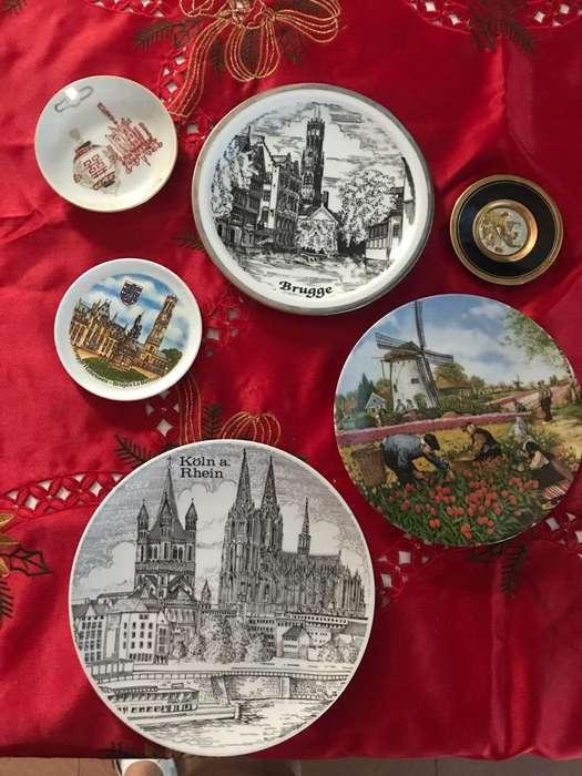 Platos de Coleccion Europeos