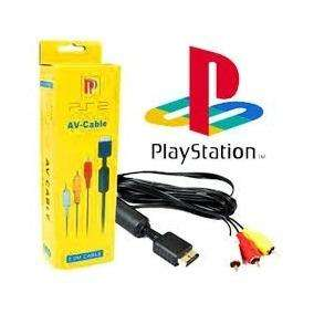 Cable Audio Y Video Play Station 2