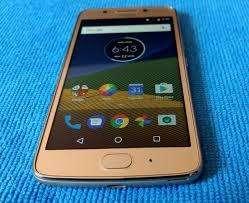 Vendo <strong>barato</strong> excelente Celular Moto G5 S Plus, color dorado, 3506219322